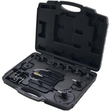 Stabdžių sistemos nuorinimo prietaisas su adapteriais 17vnt. 5