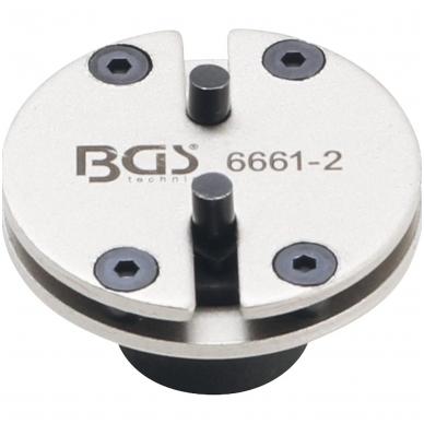 Stabdžių stūmoklių atstatymo adapteris - universalus - su 2 kaiščiais 2