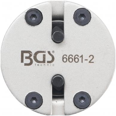 Stabdžių stūmoklių atstatymo adapteris - universalus - su 2 kaiščiais