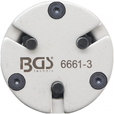 Stabdžių stūmoklių atstatymo adapteris - universalus - su 3 kaiščiais 2