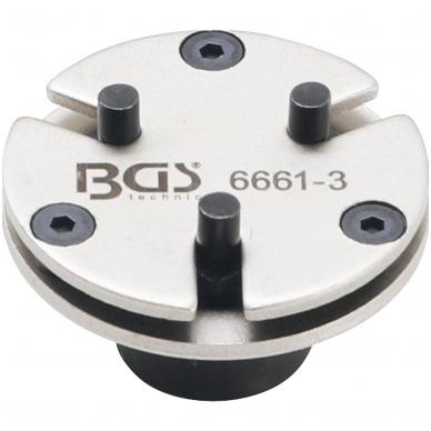 Stabdžių stūmoklių atstatymo adapteris - universalus - su 3 kaiščiais