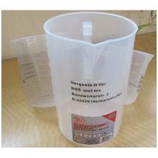Sugraduotų plastikinių indų rinkinys 500-1000-2000ml., 3vnt.