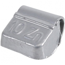 Svareliai balansavimui - Medžiaga: cinkas - 10 g -100 vnt.