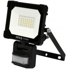 Šviesos diodų lempa - prožektorius  su judesio davikliu   SMD LED 20W 1800LM