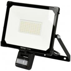 Šviesos diodų lempa, prožektorius  su judesio davikliu SMD LED 50W 5000LM