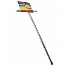 "T-formos rankena antgaliams - išorinis kvadratas 6.3 mm (1/4"") - 380 mm"