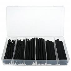 Termo žarnelių asortimentas- juodos - 100 vnt.