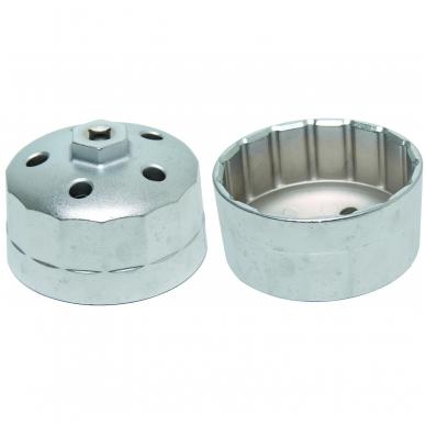 Tepalo filtro raktas/lėkštutė Land Rover 90.2 mm x 15