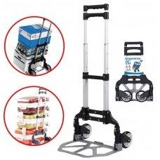 Transportavimo vežimėlis aliuminis / sudedamas 70kg.