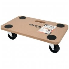 Transportavimo vežimėlis-platforma 500x300mm. iki 200kg.