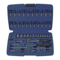 Tuščia dėžė įrankių rinkiniams