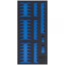 Tuščias dėklas antgaliams - bitukams 1/3, tuščias  nuo BGS 4093
