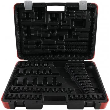 Tuščias lagaminas įrankių rinkiniui 216 vnt.