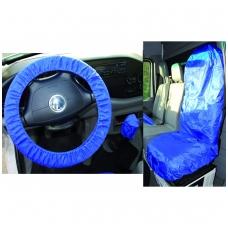 Universalus užvalkalo sėdynei ir vairaračiui rinkinys, poliesteris
