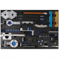 Variklio fiksavimo įrankių rinkinys | 3/3 įrankių dėklas | Fiat, Alfa, Lancia, Opel, Suzuki, Ford