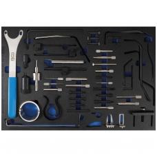 Variklio fiksavimo įrankių rinkinys | 3/3 įrankių dėklas | Fiat, Ford, Citroen, Peugeot