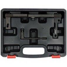 Variklio fiksavimo įrankių rinkinys Peugeot/Citroen, benzinas 1,0 - 1,2 VTi