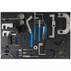 Variklio fiksavimo įrankių rinkinys Renault, Nissan, Opel, Volvo