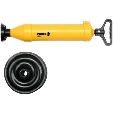 Aukšto spaudimo kanalizacijos, kriauklės valymo pompa 65mm ir 155mm