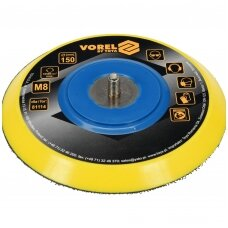 Velcro padas Ø 150mm poliruokliui