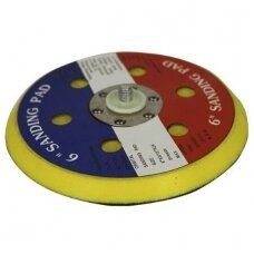 Velcro padas su skylėmis Ø 150mm., poliruokliui