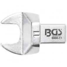 Veržliaraktis įstatomas plokščias atviras tipas 11mm.