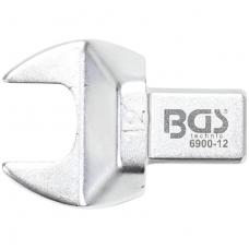 Veržliaraktis įstatomas plokščias atviras tipas 12mm.
