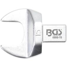 Veržliaraktis įstatomas plokščias atviras tipas 15mm.