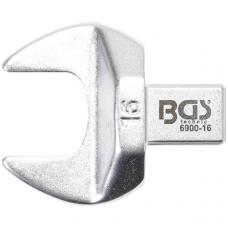 Veržliaraktis įstatomas plokščias atviras tipas 16mm.