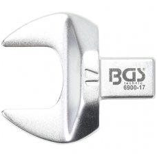 Veržliaraktis įstatomas plokščias atviras tipas 17mm.