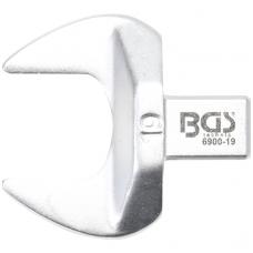 Veržliaraktis įstatomas plokščias atviras tipas 19mm.