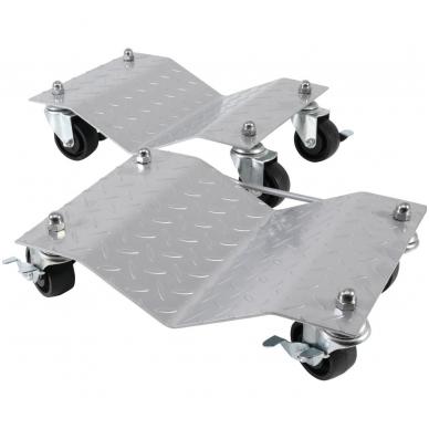 Vežimėliai-platformos perstumti automobiliui - 2 vnt. - 680 kg