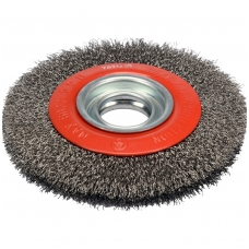 Vielinis diskinis šepetys nerūdijantis plienas INOX  ⌀32 - 150mm.