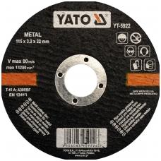 Metalo pjovimo diskas 125x1,2x22 mm