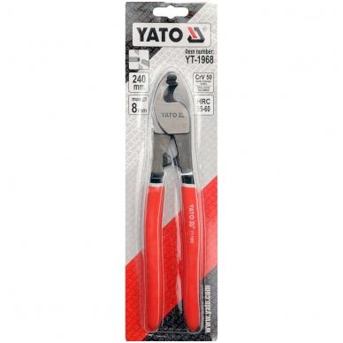 """Žirklės kabeliui 250 mm """"Yato"""" 2"""