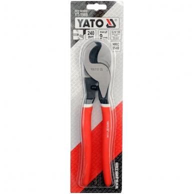 """Žirklės kabeliui 240 mm """"Yato""""  2"""
