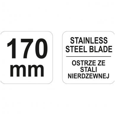 Žirklės popieriui 170 mm 3